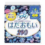 UNICHARM Sofy Heavy Night time Wing Sanitary Napkin 量多夜用衞生巾 敏感肌膚使用  (29cm) 10枚
