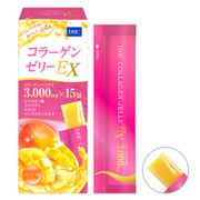 DHC Collagen Jelly EX Mango Flavor |  DHC 膠原蛋白果凍EX 芒果味15g 15pcs