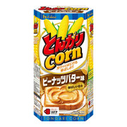 HOUSE TONGARI Corn Peanut Butter Flavor | 好侍 通加利 粟米筒 花生醬味 75g