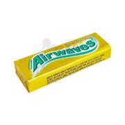 AIRWAVES Sugarfree Chewing Gum Honey & Lemon Flavor | 爽浪 無糖香口珠條裝 檸檬味 10 Pellets