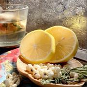 GLYF Herbal Tea Bag Lemon Barley 龜苓元坊 草本三⾓茶包 檸檬薏米 8pcs
