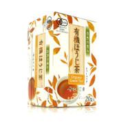 HARADA TEA - Kahori Chabo JAS Organic Hojicha/ Roasted Green Tea Bags 原田製茶 香織茶房 有機焙茶茶包 20pcs