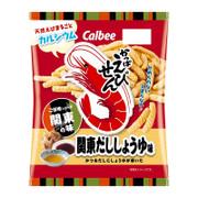 CALBEE - Prawn Cracker Dashi Soy Flavor | 卡樂B 蝦條 關東 高湯醬油味 [日本版] 70g