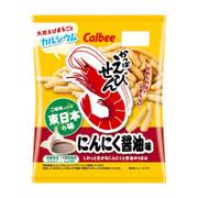 CALBEE - Prawn Garlic Soy Flavor | 卡樂B 蝦條 東日本 大蒜醬油味 [日本版] 70g