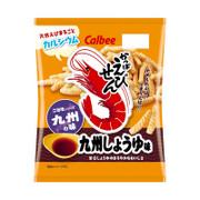 CALBEE - Prawn Soy Flavor | 卡樂B 蝦條 九州 醬油味 [日本版] 70g