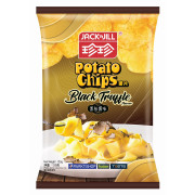 JACK N JILL Potato Chips Black Truffle Flavor | 珍珍薯片 黑松露味薯片 120g (重量級大包)