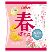 CALBEE - Potato Chips Spring Salt Flavor  | 卡樂B 薯片 春鹽味 65G