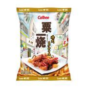 CALBEE - GRILL A CORN - Sweet & Sour Pork Flavor | 粟一燒 港式生炒排骨味 60g