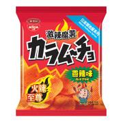 KOIKEYA TAMJAI Potato Hot Chilli Flavour   湖池屋 激辣魔薯 香辣味薯片 55G