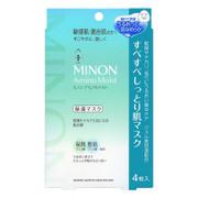 MINON Amino Moist Mask 混合肌氨基酸保濕面膜 4Sheets/Box