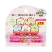 COSMOBEAUTY  Sumikko Gurashi  Lip Stick 角落生物保濕潤唇膏 草莓味  2g