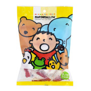 Sanrio Jam Filled Marshmallow Minna No Tabo Chocolate Flavor 大口仔 夾心棉花糖 朱古力味 100G