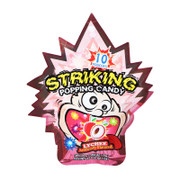 Striking Popping Candy Lychee 索勁 爆炸糖 荔枝味 10 pcs