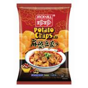 JACK N JILL Potato Chips Mapo Tofu Flavor | 珍珍薯片  麻婆豆腐味 120g (重量級大包)