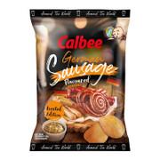 CALBEE - Potato Chips German Sausage Flavor  | 卡樂B 薯片 德國香腸味 70g