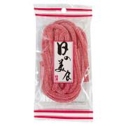 Yat Snack Sour Strawberry Gummies 日の美食 懷舊橡皮糖 酸砂士多啤梨鞋帶糖 90g