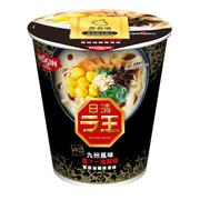 NISSIN Cup Noodles Black Garlic Oil Tonkotsu Flavor | 日清 拉王 非油炸杯麵 黑蒜油豬骨湯味 79 g