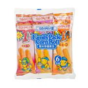SZE HING LOONG Family Pack Corn Roll | 時興隆 粟米卷優惠包 (三口味各2件) 6pcs