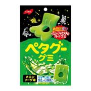 NOBEL Petagu Gummies Melon Soda 諾貝爾 外星生物造型軟 蜜瓜梳打味 50g