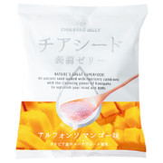 WAKASHO Chia Seed Konjac Jelly Mango 若翔 奇亞籽蒟蒻啫喱 芒果味 (10個入)