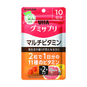 UHA Mikakuto Gummy Multi Vitamins | 味覺糖 營養補充軟糖-多種維他命 20'S