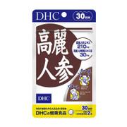 DHC - Supplement Ginseng 高麗人參精華  補充體力 舒緩壓力 60 Tablets (30 days)