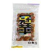KOON WAH Crispy Dough w/ Sesame & Seaweed 冠華 芝麻紫菜齋雞粒 135G