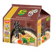 Nissin Noodle Pork Broth Black Garlic Oil Flavor 泰國日清 豬骨濃湯黑蒜油麵 60g 【1包/5包】