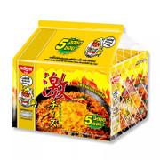 Nissin Dry Noodle Korean Hot Chili Chicken Cheese Flavor 泰國日清 韓式芝士辛辣雞撈麵 60g 【1包/5包】