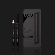 FLOWFUSHI UZU Eye Opening Liner  Liquid (PITCH-BLACK) | 大和匠筆 工匠級 眼線液(濃黑)