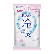 Biore -3℃Cold Sheet Refresh Floral 碧柔-3℃超爽涼感降溫止汗濕巾 (20枚) 玫瑰香