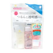AND MIRAI Trial Travel Set 3件裝旅行體驗套装: 洗面乳 20g + 化妝水 30ml + 面霜 15g