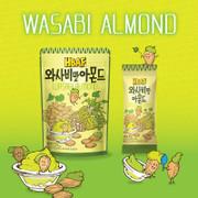 HBAF Almond Wasabi 韓國 杏仁 芥末味 【40g/35g】