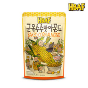 HBAF Almond w/ Baked Corn  韓國 杏仁連粟米粒 【40g/35g】