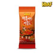 HBAF Almond Tteokbokki 韓國 杏仁 辣炒年糕味  30g