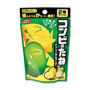 NOBEL Chewy Candy Lemon & Apple  諾貝爾 脆皮軟糖 檸檬及青蘋果味 35g
