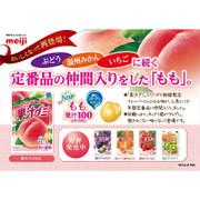 MEIJI Fruit Juice Gummy Peach Flavor | 明治果汁軟糖 香桃味 51g