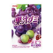 MEIJI Fruit Juice Gummy Grape Flavor | 明治果汁軟糖 葡萄味 51g