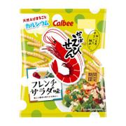 CALBEE - Prawn Crackers French Salad | 卡樂B 蝦條 法式沙律味 70G