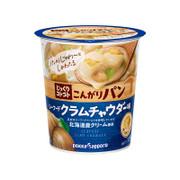 POKKA SAPPORO Cup Cube Toast Creamy Clam Chowder 日本Pokka 麵包粒濃湯 海鮮蛤蜊 25.9g