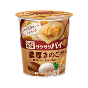 POKKA SAPPORO Cup Crisp Pie Mushroom Pottage 日本Pokka 麵包粒濃湯 酥皮蘑菇 27.2g