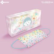 H Plus Chibi Maruko Chan HK Made Face Masks 10 Pcs K | 櫻桃小丸子 -  馬卡龍款 (限定 成人10片獨立包裝透明外盒) ASTM Level 3