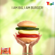 YUPI Gummy Candy Big Burger | YUPI 大漢堡橡皮糖 32g