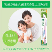 SUNTAR Toothbrush for Baby | Miffy兔 幼兒軟毛兒童牙刷1枝 (0 Years Old) (Color Choice: Blue/Pink/Green )