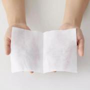 Nichimen Orimono 100% Cotton | 日綿織物 乾濕兩用潔面卸妝綿巾袋裝【粉紅 Pink 】80 pcs