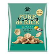 KOIKEYA  Pure de Rice Yuzu Chirimen Flavor | 湖池屋 柚子海鮮味脆米片 45g