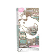 Masklab Surgical Mask Ding Ding in North Point Adults 10Pcs 成人外科口罩 叮叮遊北角 ASTM Lv3 (10片獨立包裝/盒) Made in HK