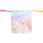 SANRIO Drawstring Bag Little Twin Stars 索繩袋