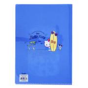 SANRIO Folder A4 Double Layer Hello Kitty 閃片夾層A4文件夾