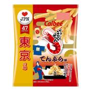 CALBEE - Prawn Crackers Tempura | 卡樂B 蝦條 東京天婦羅風味 65G